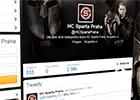 Přehrát video: Sparta na sociálních sítích