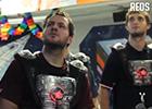 Přehrát video: Laser game hráčů s fanoušky