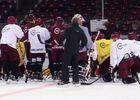 Přehrát video: První trénink A-týmu na ledě